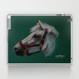 Portrait Of A Friend Laptop & iPad Skin