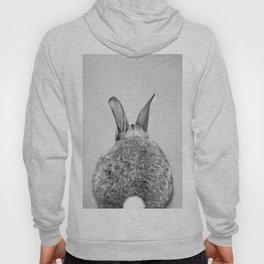Rabbit Tail - Black & White Hoody
