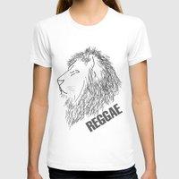reggae T-shirts featuring Reggae Lions by Teo Designs