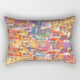 Seamless Cinque Terre Rectangular Pillow