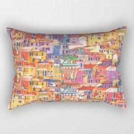 Seamless Cinque Terre Rectangular Pillow