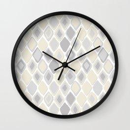 Almas diamond ikat pure Wall Clock