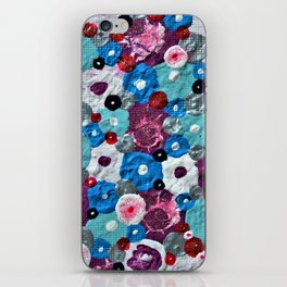 Mixed Flowers iPhone Skin