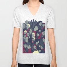 Ice and Fire Unisex V-Neck