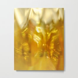 Viscous Honey Metal Print