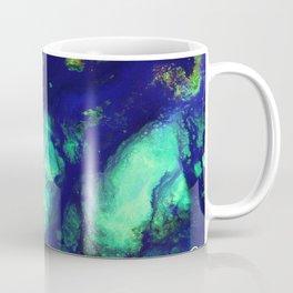 Titan Mixed Media, Abstract Artwork Contemporary Artist, Photograph Abstract Close Up, Bright Color Coffee Mug