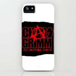 Chaos Army iPhone Case