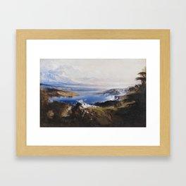 John Martin,  The Plains of Heaven 1851–3 Framed Art Print