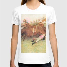 Edgar Degas - Scene from the Steeplechase: The Fallen Jockey T-shirt