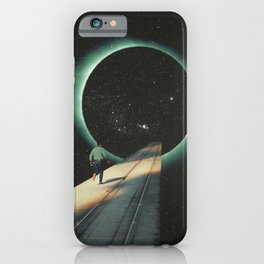 Escaping into the Void iPhone Case