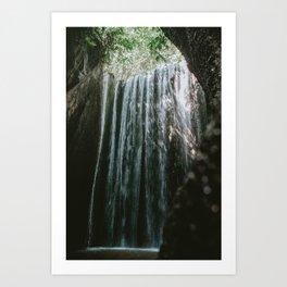 Tukad Cepung Waterfall Art Print