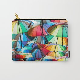 Under My Umbrellas Carry-All Pouch