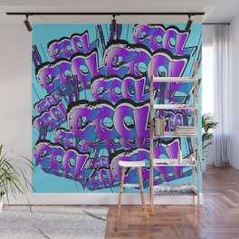 Cool Graffiti Typography Lettering Art / GFTTypography006  Wall Mural