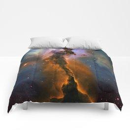 Stellar Spire in the Eagle Nebula Comforters