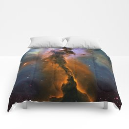 Stellar Spire in the Eagle Nebula Comforters