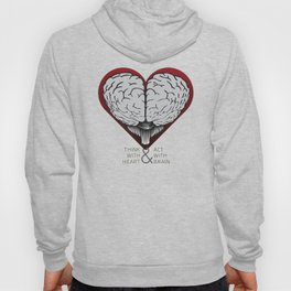 Think With Heart Hoody