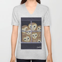 The Owls Are Not What They Seem Unisex V-Neck