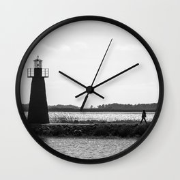 One is the loneliest... Wall Clock
