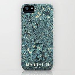 Mannheim, Germany - Cream Blue iPhone Case