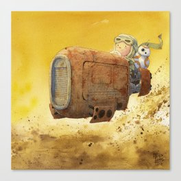 Rey BB-8 Canvas Print