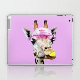 TENNIS GIRAFFE Laptop & iPad Skin