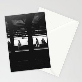 Train Platform Stationery Cards