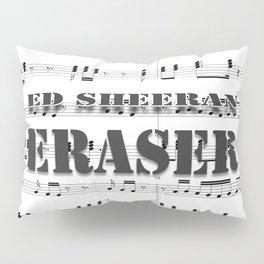 ERASER - Pop Music Pillow Sham