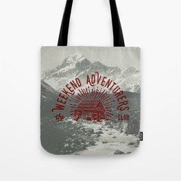 Weekend Adventurers Club Tote Bag