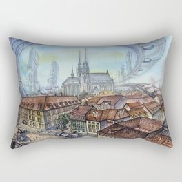 Czech Republic, Brno - 2117 Rectangular Pillow