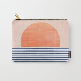 Summer Sunrise - Minimal Abstract Carry-All Pouch