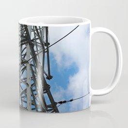 Blue Skies and Electrical Power Coffee Mug