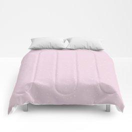 Light Pink Shambolic Bubbles Comforters
