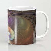 fractal Mugs featuring Fractal by gabiw Art
