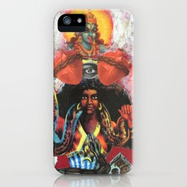 martha the dominator iPhone Case