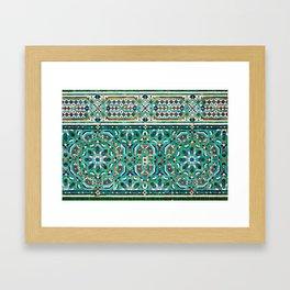 Moroccan Mosaic 2 Framed Art Print