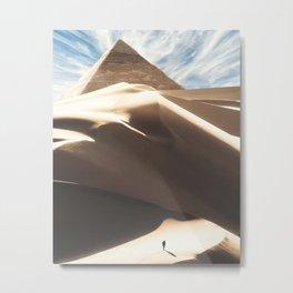 The Great Pyramid Metal Print