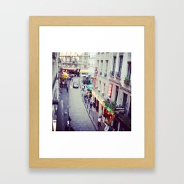a room with a view Framed Art Print