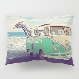 NEVER STOP EXPLORING THE BEACH Pillow Sham