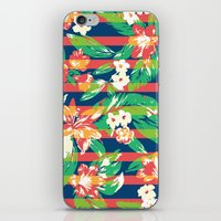tropical iPhone & iPod Skins featuring Tropical by Steven Toang