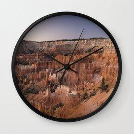 Photos USA Crag Nature canyons Rock Cliff Canyon Wall Clock