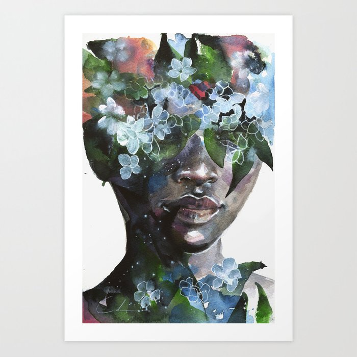 Discover the motif GARDEN II by Agnes Cecile as a print at TOPPOSTER