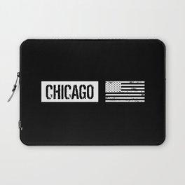 U.S. Flag: Chicago Laptop Sleeve