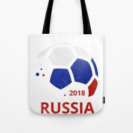Russian National Soccer Team Fan Gear Tote Bag
