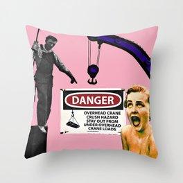 Crane Situation Throw Pillow