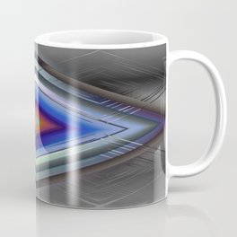 Diamonds On Steel Coffee Mug