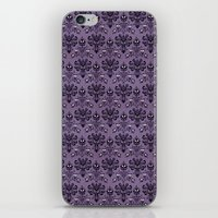 haunted mansion iPhone & iPod Skins featuring The Haunted Mansion by GeekCircus