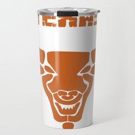 Texas bull bull head horns USA gift Travel Mug