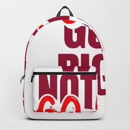 GO LEFT Backpack