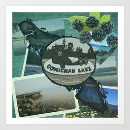 Cowichan Lake Art Print