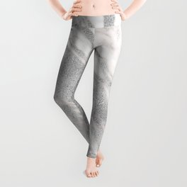 Castello silver marble Leggings